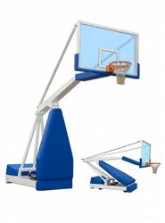 Стойка баскетбольная передвижная тренировочная модели Hydroplay. Сертификат FIBA.