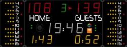 Универсальное табло для игровых видов спорта, модель 452 MB 7020