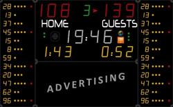 Универсальное табло для игровых видов спорта, модель 452 MB 7020-2