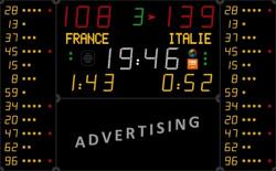 Универсальное табло для игровых видов спорта, модель 452 MB 7120-2