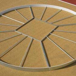 Круг для метания диска. Сертификат IAAF