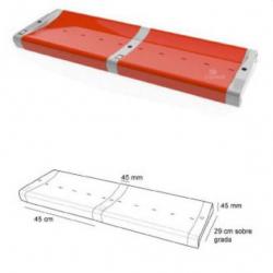 Сидение-скамья без спинки из двух частей