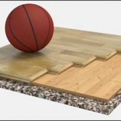 Пол спортивный паркетный серии 1006 - сертификат FIBA