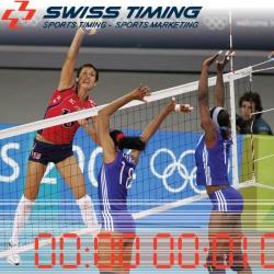 Система судейства и хронометража для волейбола