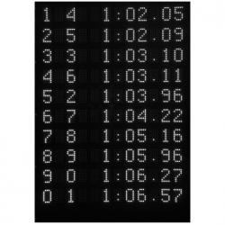 Табло цифровое для плавания PICCOLO Scoreboard