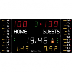 Универсальное табло для игровых видов спорта, модель 452 MF 7020