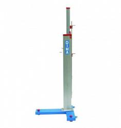 Стойки телескопические алюминиевые для установки планки для прыжков в высоту, модель Super Elite