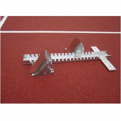Стартовые колодки для соревнований, модель Elite. Сертификат IAAF.