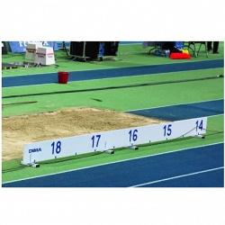 Маркер расстояния из ПВХ для прыжков в длину / тройного прыжка