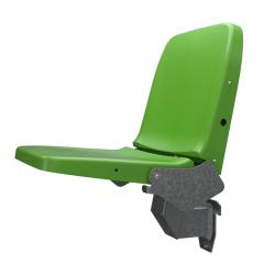 Сиденье индивидуальное пластиковое откидное модель ABM Tip Up