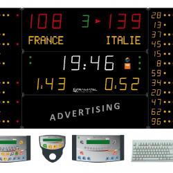 Универсальное табло для игровых видов спорта, модель 452 MF 7120-2