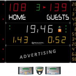 Универсальное табло для игровых видов спорта, модель 452 MF 7020-2