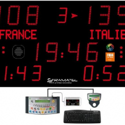 Универсальное уличное табло для игровых видов спорта, модель PRO 452 XMB 7100