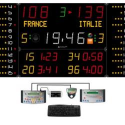 Универсальное табло для игровых видов спорта, модель 452 MB 3123