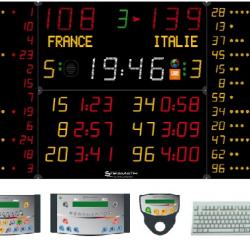 Универсальное табло для игровых видов спорта, модель 452 MB 3123-12